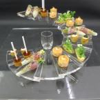 unusual canape tray