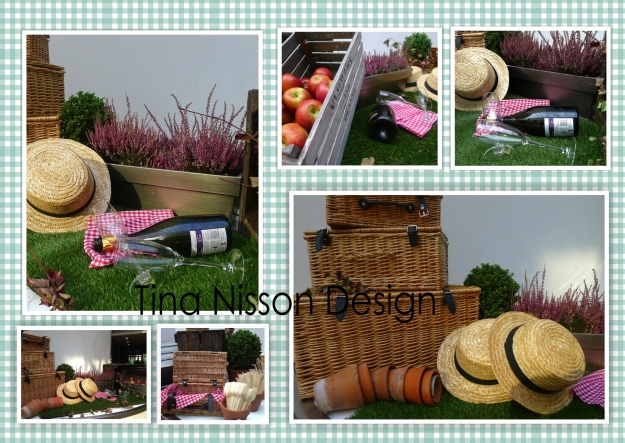 English summer picnic theme