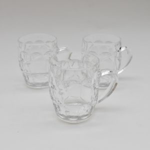 Half pint glass mug