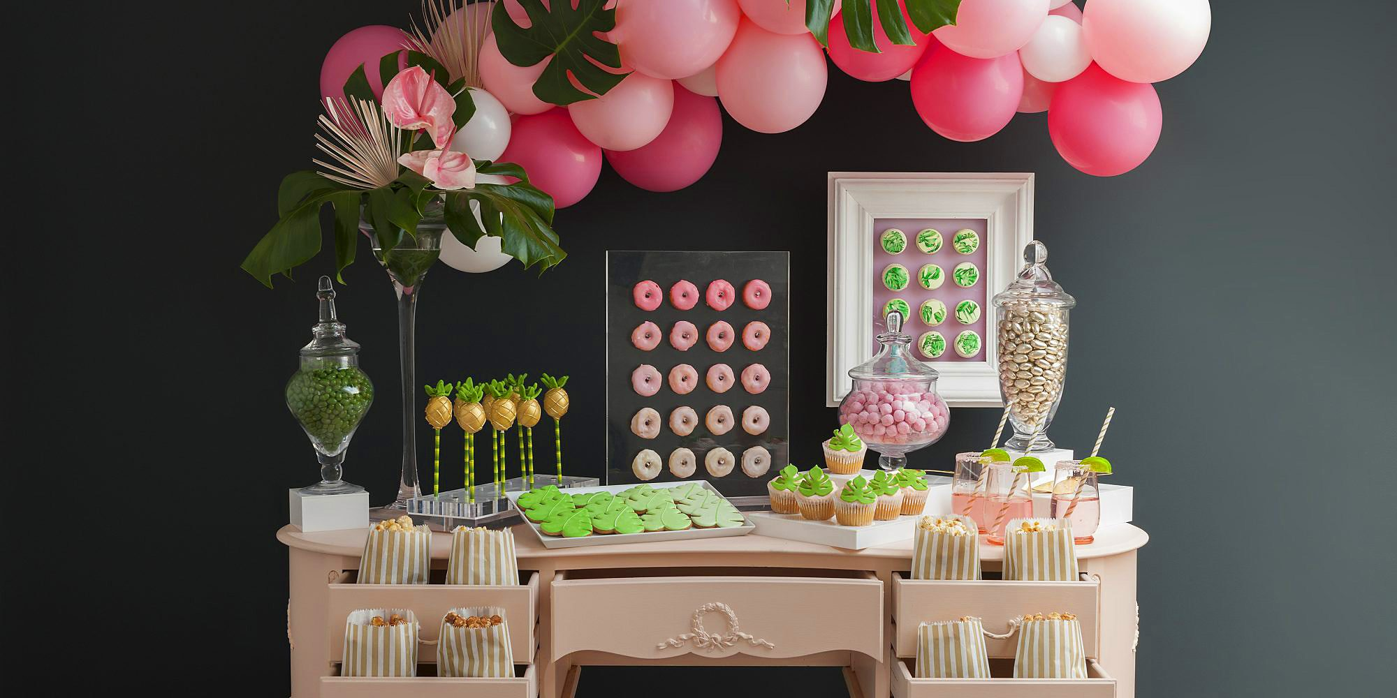 Tina Nisson Design sweetie counter event design